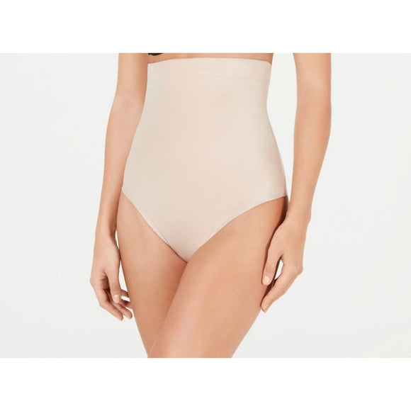Spanx 10196R Suit Your Fancy Control High-Waist Thong LARGE Nude NWT - Better Bath and Beauty