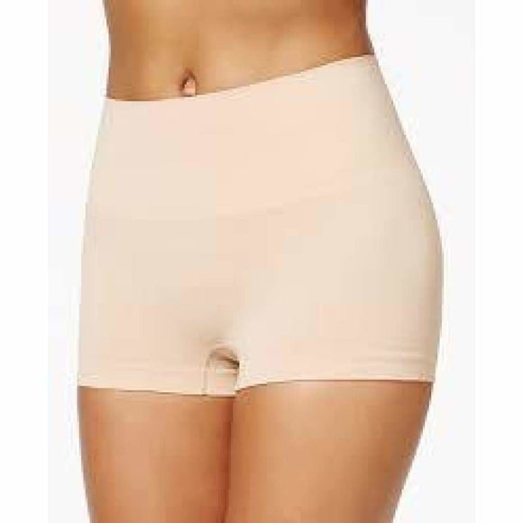 Spanx SS0915 Everyday Shaping Panties Boyshort LARGE Nude NWT - Better Bath and Beauty