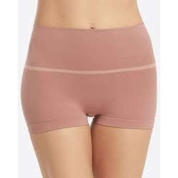 Spanx SS0915 Everyday Shaping Panties Boyshort XL Desert Rose Pink Cashmere - Better Bath and Beauty