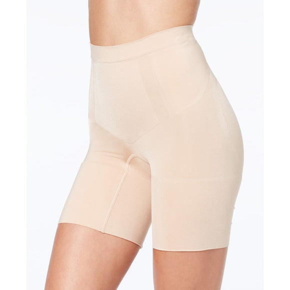 Spanx SS6615 OnCore Mid-Thigh Short LARGE Nude NWT - Better Bath and Beauty