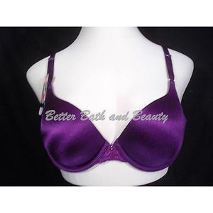 Vanity Fair 75200 Modern Coverage Look Lifted Underwire Bra 36C Purple NWT - Better Bath and Beauty