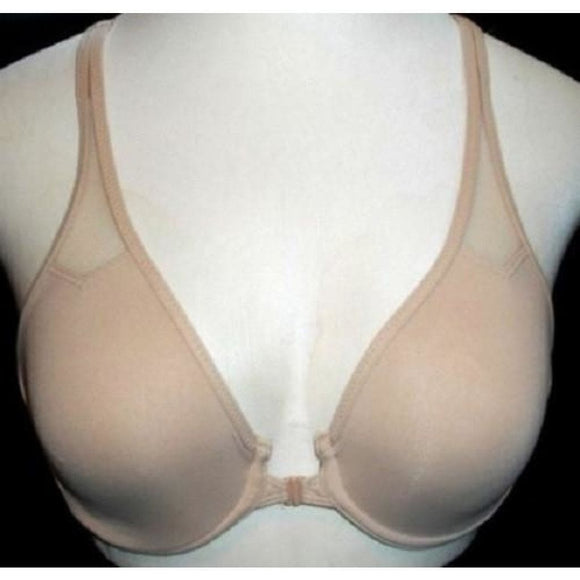 Wacoal 65124 Front Close T-Back Seamless Underwire Bra 36B Nude NWT - Better Bath and Beauty
