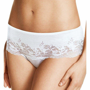Wacoal 845256 Lace Affair Tanga Panty XL X-LARGE White NWT - Better Bath and Beauty