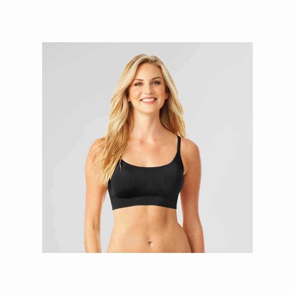 403aa47d74 ... Warner RM0911A Easy Does It Wire Free Bralette XL X-LARGE Rich Black -  Better ...