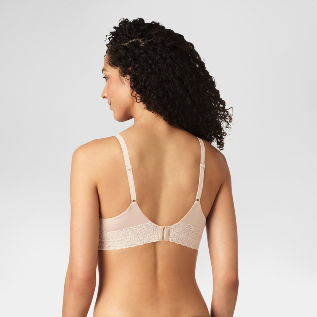7b88e2a35958f ... Warner s RO5691 Simply Perfect Supersoft Lace Wirefree Bra 40C Toasted  Almond - Better Bath and Beauty ...