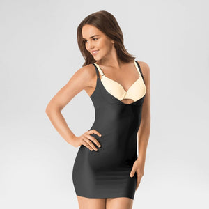 Warners WT1130 Simply Perfect WYOB Shaping Slip LARGE Black NWT - Better Bath and Beauty