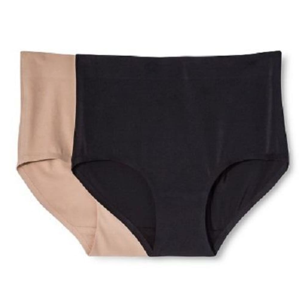626bcf40e6a49 Warners WT1172 Simply Perfect 2-Pack Everyday Shaping Control Brief XL  X-LARGE Nude ...