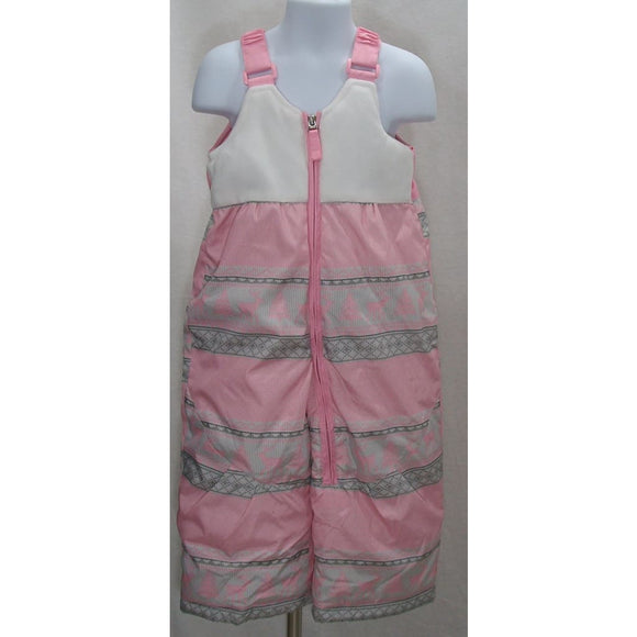 Zero Xposur GIRLS Water & Wind Resistant Snow Suit Bibs Size 24M Pink NWOT - Better Bath and Beauty