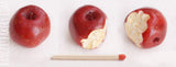 miniature apple 1/4 scale