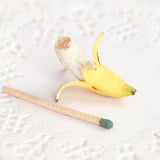 BANANA Miniature, Doll Food, Dollhouse, BJD Prop, 1/12, 1/6, 1/4, 1/3 scale, SD, MSD, YoSD