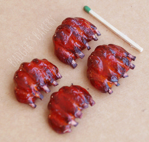 1/6 scale miniature ribs