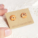 tiny chocolate chip cookie studs