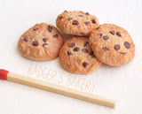miniature chocolate chip cookies
