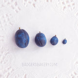 miniature plums for dolls