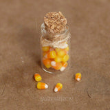 Miniature Candy Corn Jar