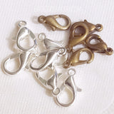 Charm Upgrade - LOBSTER CLASP in bronze or silver