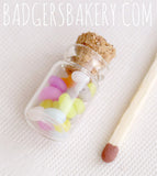 miniature jelly bean jar