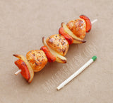 1/3 scale chicken kabob