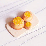 LEMON CAKE Dollouse Miniature, GoT Inspired Food for Dolls, BJD