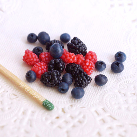 miniature berries mix