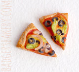 vegetarian pizza miniature
