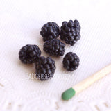 miniature blackberries 1/4 scale
