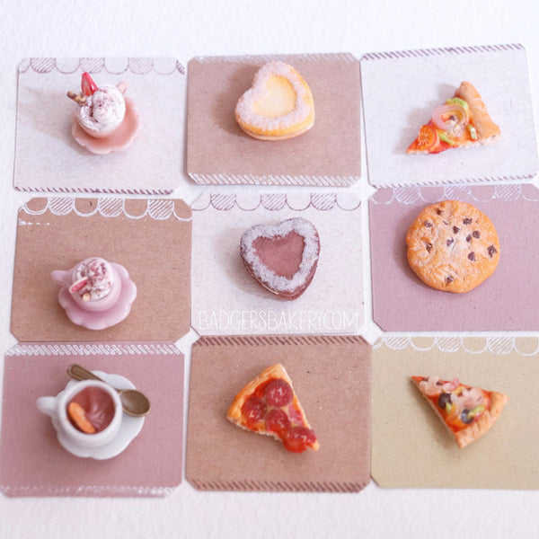 miniature food fridge magnets