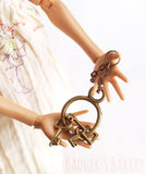 miniature keychains for 1/6 scale dolls