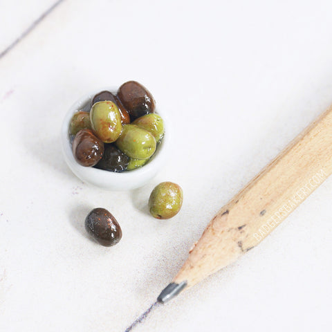 1/6 scale olives bowl