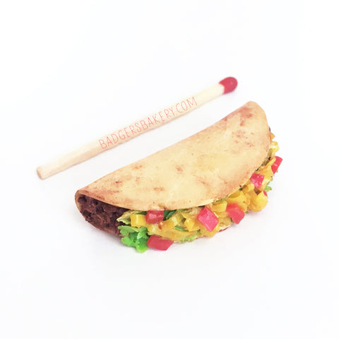 miniature 1/4 scale taco