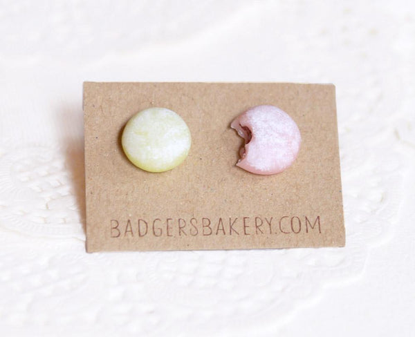 mochi stud earrings