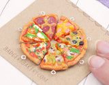 miniature pizza charms