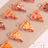 miniature pizza pendants