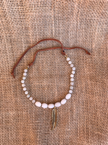 That's a Wrap Necklace in Moonstone