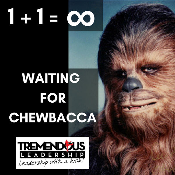Waiting for Chewbacca