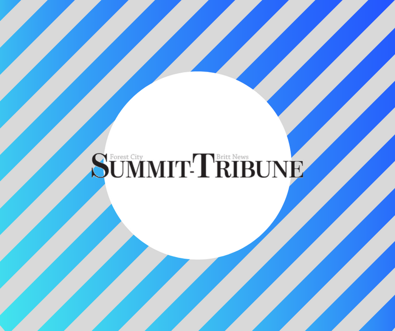 Charlie Featured in Summit Tribune Article