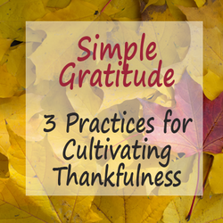 Cultivating A Spirit of Gratitude - 3 Thankfulness Practices