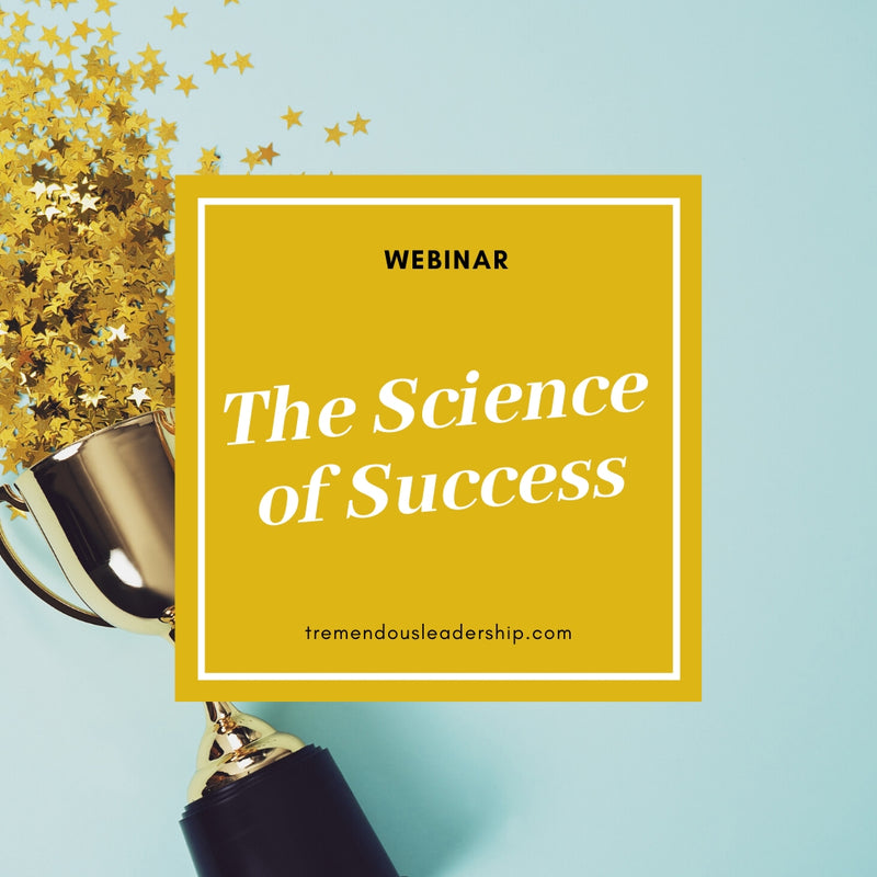 Webinar - The Science of Success