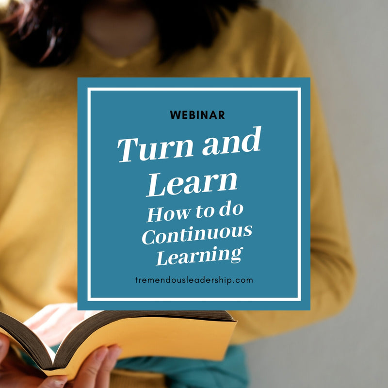 Webinar - Turn and Learn: How to do Continuous Learning
