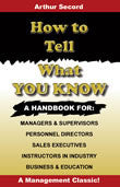 Ebook - How to Tell What You Know