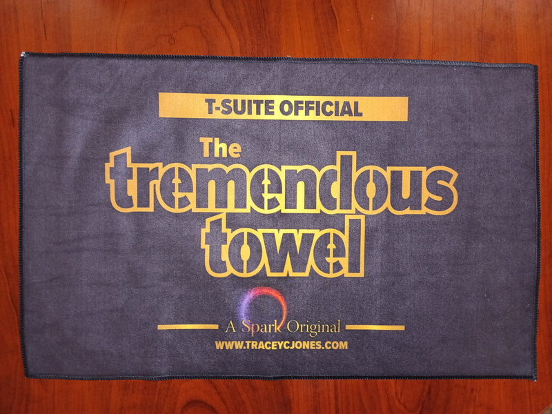 The Tremendous Towel - Dark Blue/Black Version