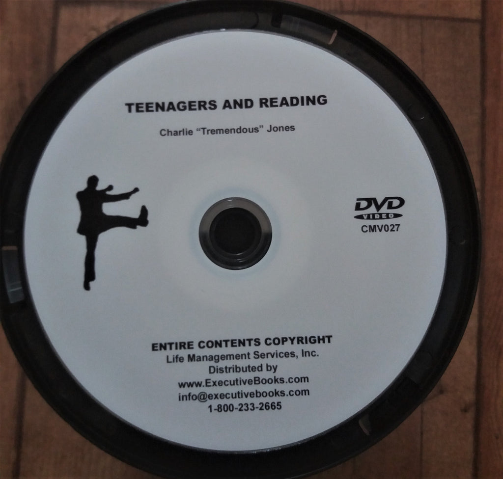 DVD - Teenagers and Reading