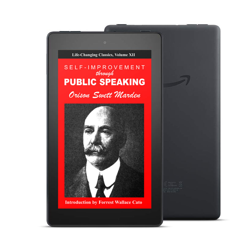 Self-Improvement Through Public Speaking: Laws of Leadership, Volume II