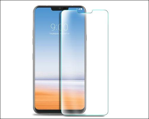 LG G7 Full Coverage Side Adhesive Glass Screen Protector