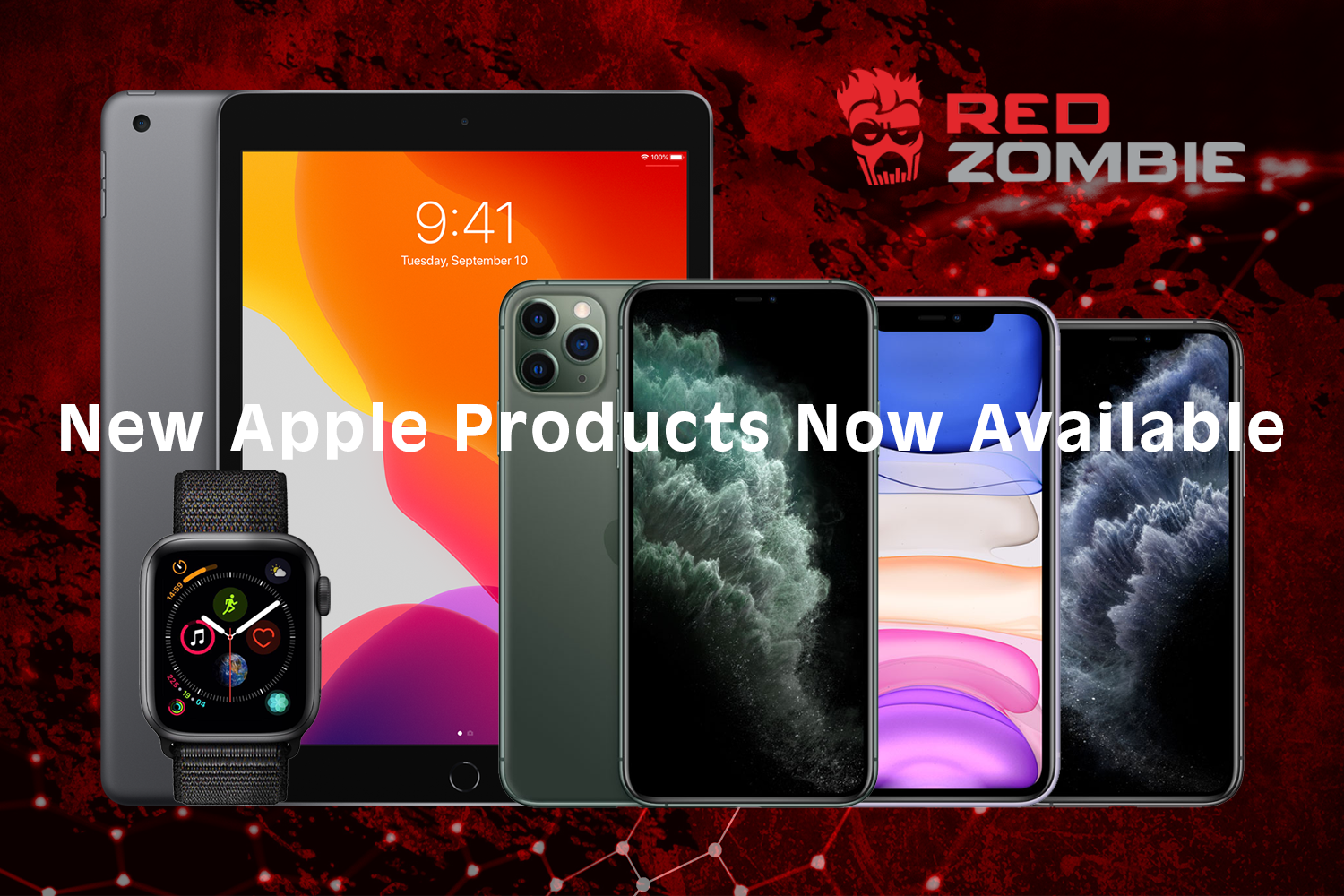 2019 Apple products available from Red Zombie