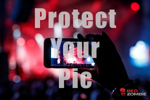 Protect Your Pic with Red Zombie Glass Protection