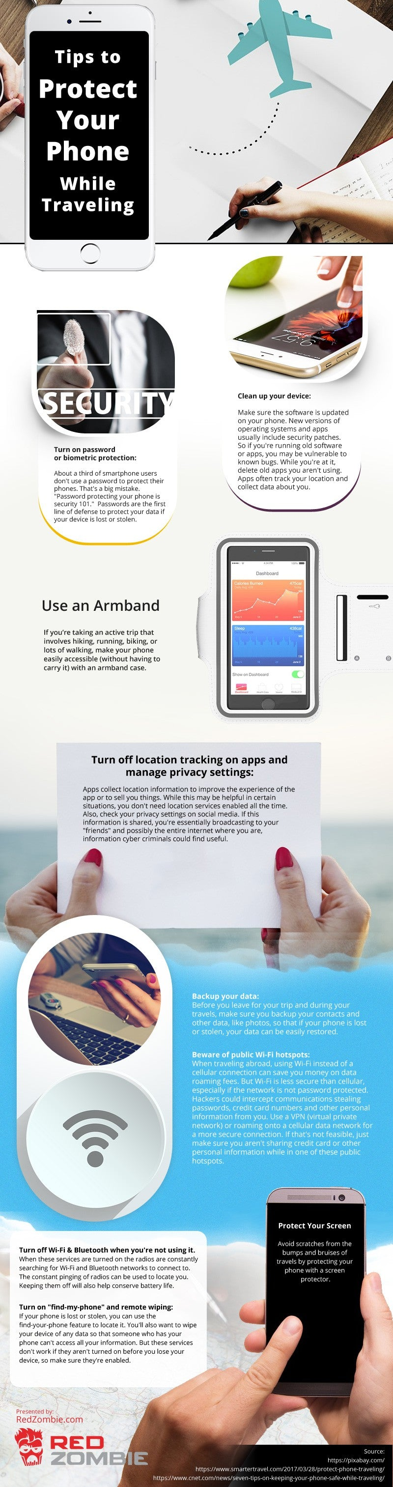 Tips to Protect Your Phone While Traveling [infographic]
