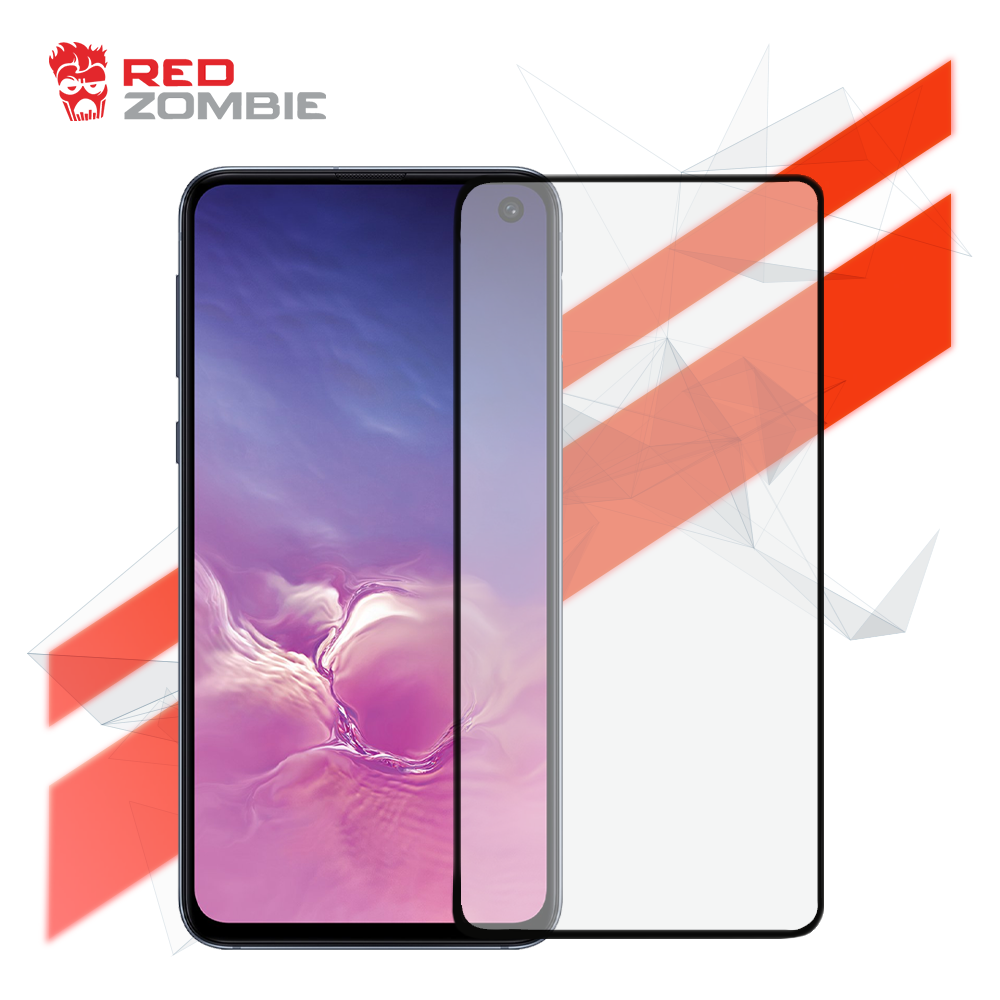 brand new 530ea 1991c Samsung Galaxy S10e - Tempered Glass Screen Protector - 3D Curved -Full  Coverage - Full Adhesive