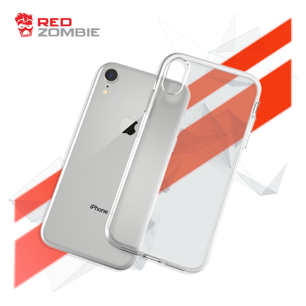 iPhone XS Max Clear Case by Red Zombie
