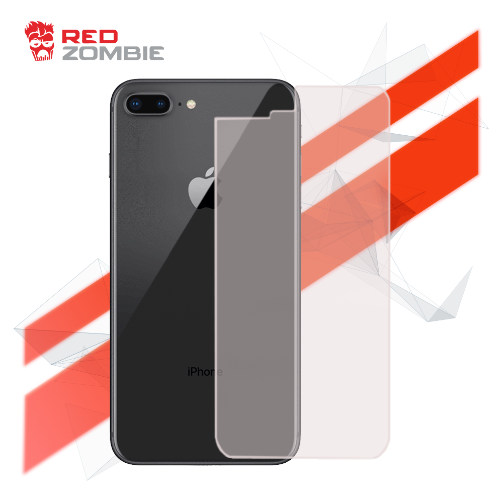 new products 16104 89ec4 Apple iPhone 8 Plus - Back Cover - Tempered Glass Screen Protector